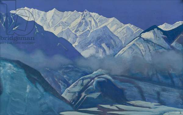 Devita, 1932 (tempera on canvas)