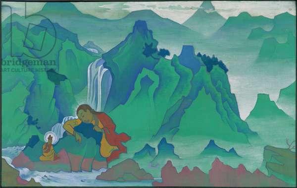 Padma Sambhava, 'Banners of the East' series, 1924 (tempera on canvas)
