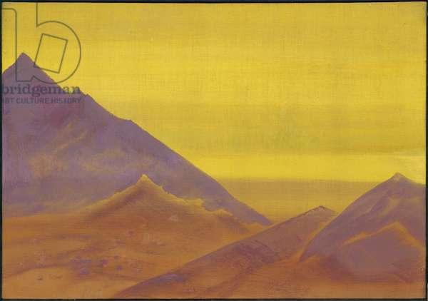 Dawn, c.1930 (tempera on canvas)