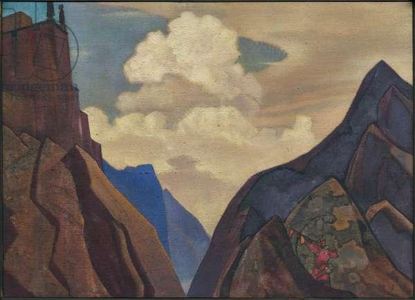 Shambale Daik, 1931 (tempera on canvas)