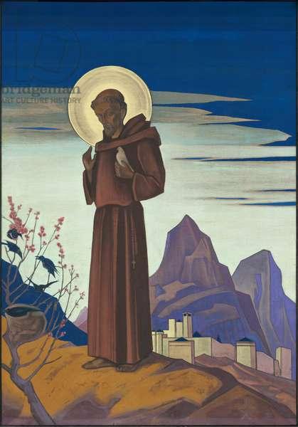 St. Francis, 1932 (tempera on canvas)