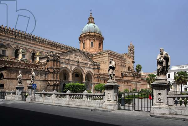 The Cattedrale in Palermo Sicily