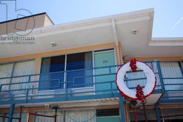 The Lorraine Motel  in Memphis Tennessee where Martin Luther King was assassinated (photo)