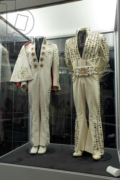 Elvis Presley's stage suits on display at Graceland Memphis USA (photo)