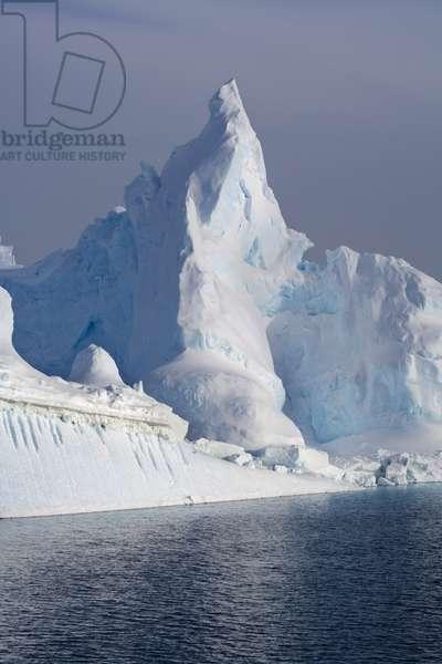 Icebergs in the Ross Sea (photo)