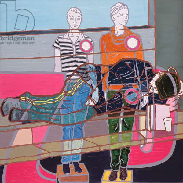 Discounted Products I, 2007 (oil on canvas)