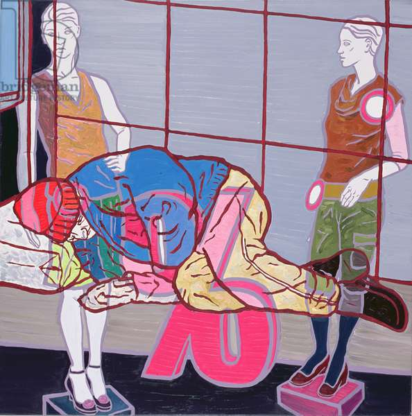 Discounted Products III, 2007 (oil on canvas)