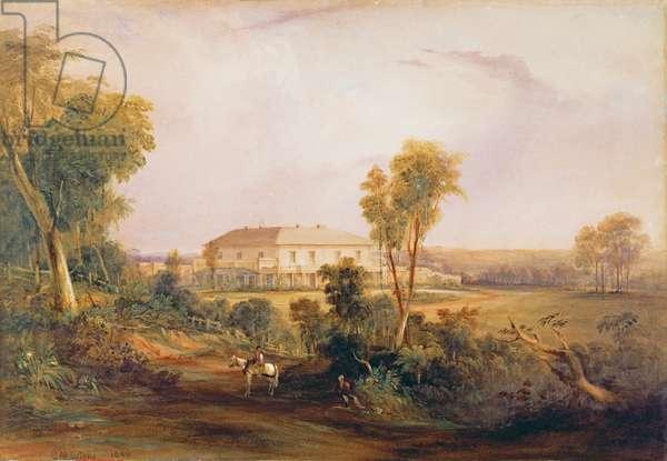 Camden Park House, home of John MacArthur (1767-1834), 1843 (w/c)