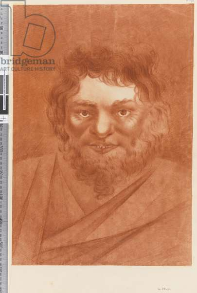 Page 19a Portrait of a native, 1768-75 (red chalk)