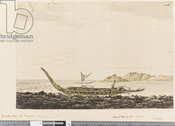 Page 25 Resolution Bay in the Marquesas. 1774, 1768-75 (w/c)