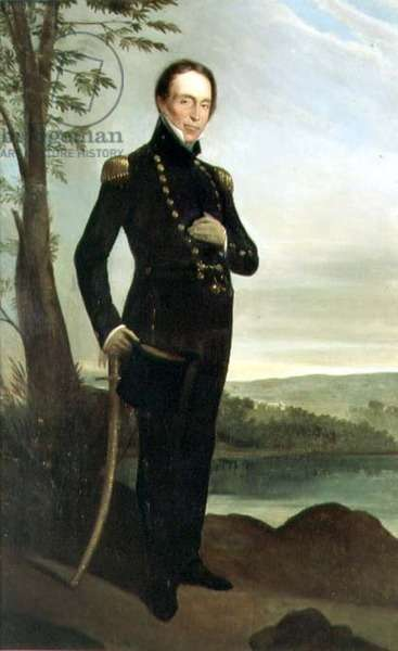 Portrait of Captain John Piper (1773-1851), c.1826