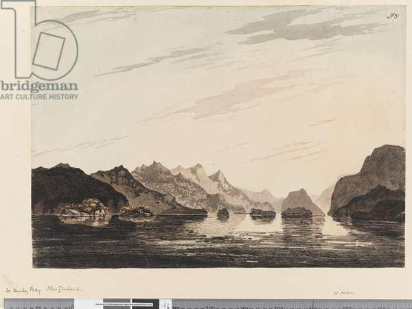 Page 31 In Dusky Bay, New Zealand, 1768-75 (w/c)