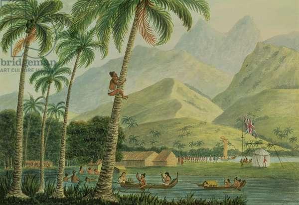 The Observatory, Point Venus, Otahytey, 1792 (w/c)
