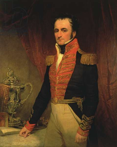 Portrait of Admiral Sir James Stirling (1791-1865), first Governor of Western Australia 1829-39, c.1833