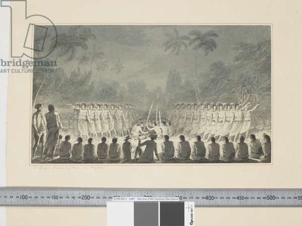 F.5 A Night Dance by Men, in Hapaee, c.1773-84 (w/c)