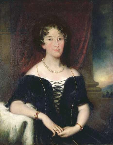 Portrait of Elizabeth, (1766-1850), wife of John Macarthur, co-founder of the Australian Wool Industry, c.1820