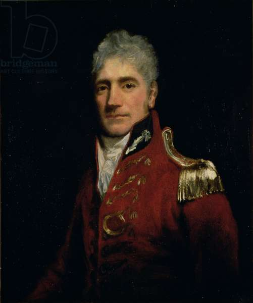 Possibly a portrait of Major General Lachlan Macquarie (1761-1824), Governor of New South Wales 1809-21, the 'Father of Australia', c.1805