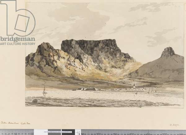 Page 10 Table Mountain, Cape town, 1768-75 (w/c)