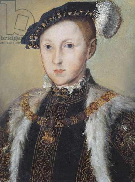 Portrait of Edward VI (oil on canvas)