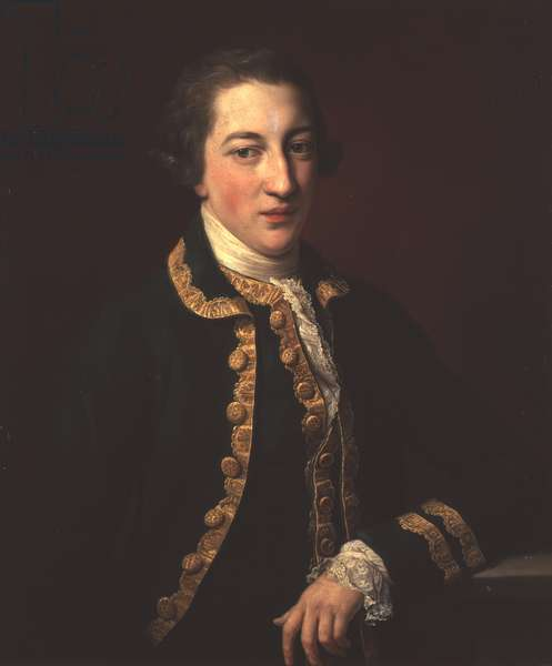 Portrait of Lord Algernon Percy, later 1st Earl of Beverley, 1769 (oil on canvas)