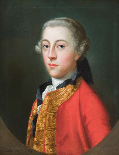 Portrait of Hugh Percy, later Lord Warkworth, 2nd Duke of Northumberland, 1765, 1765 (oil on canvas)