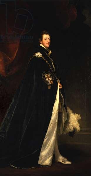 Portrait of Hugh, 3rd Duke of Northumberland, 1828 (oil on canvas)