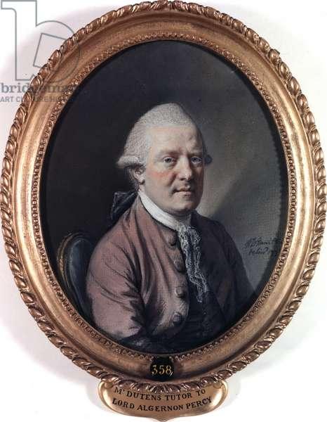 Portrait of Mr Louis Dutens. 1773 (pastel on paper)