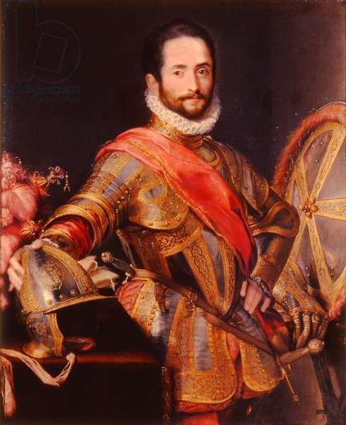 A portrait of Francesco Maria della Rovere (oil on canvas)