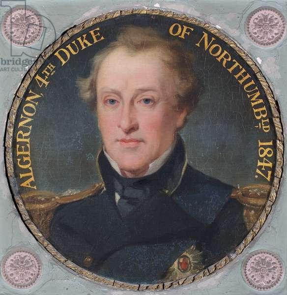 Algernon, 4th Duke of Northumberland, 1730-70 (oil)