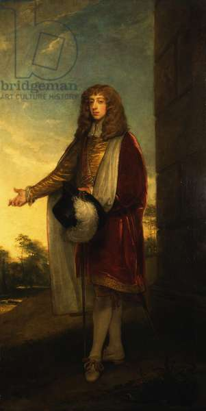 An historical portrait of Joceline, 11th Earl of Northumberland, 1804 (oil on canvas)