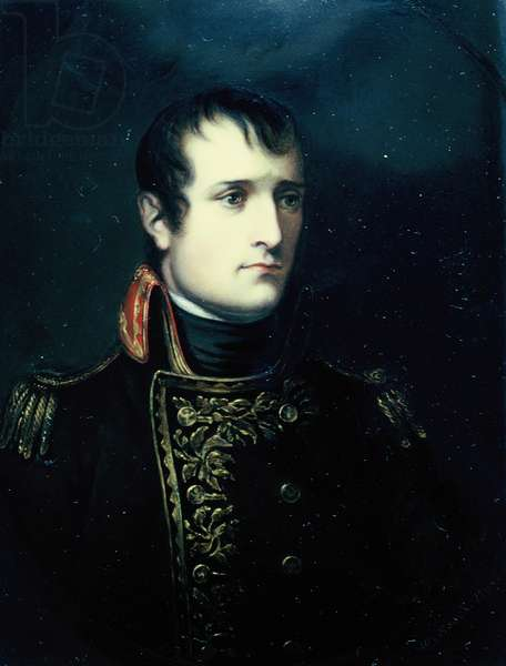 Portrait of Napoleon Bonaparte, 1803 (oil on canvas)