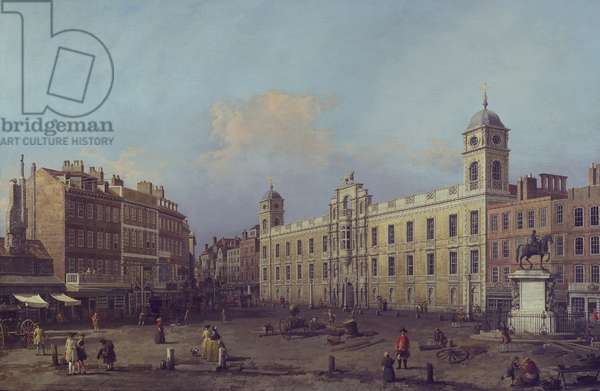 London, a view of Northumberland House, looking eastward, 1752-53 (oil on canvas)