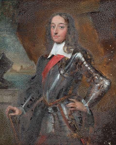 Portrait of Sir Edward Harley (oil on paper)