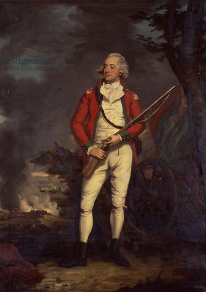 Portrait of Sir Roger Hale Sheaffe, Bt, c.1790 (oil on canvas)