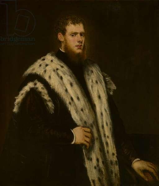 A portrait of a Venetian nobleman (oil on canvas)