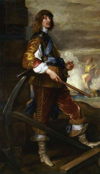 Portrait of Algernon, 10th Earl of Northumberland, c.1638 (oil on canvas)