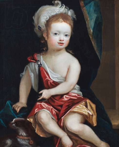 Portrait of a boy, 1710-30 (oil on canvas)