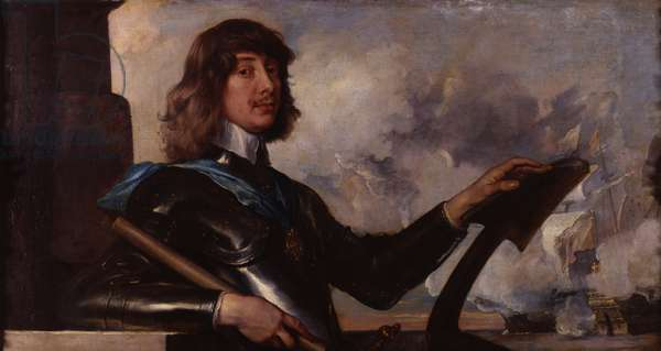 Portrait of Algernon, 10th Earl of Northumberland (oil on canvas)
