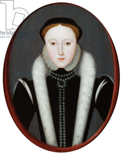 Portrait of Lady Jane Grey, also called Queen Elizabeth I (oil on panel)