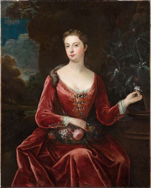 Portrait of Mary Thynne, Lady Brooke (oil painting)