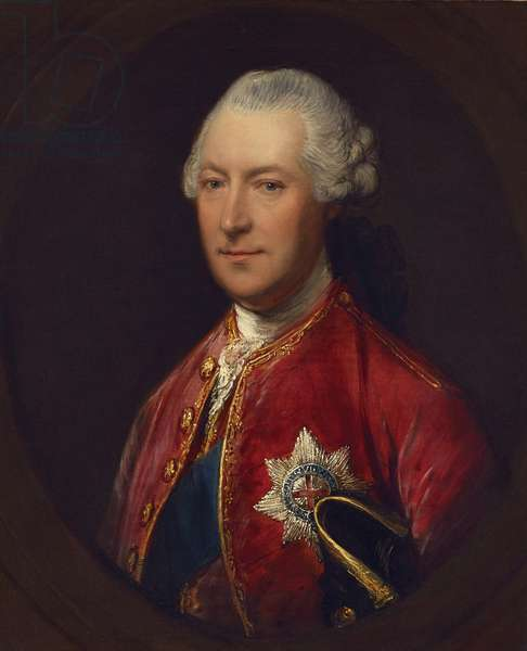 Portrait of Hugh, 1st Duke of Northumberland, c.1770 (oil on canvas)