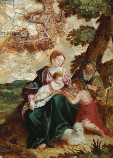 The Holy Family (oil)
