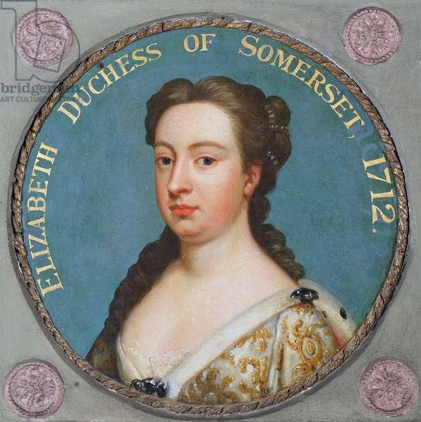 Elizabeth, Duchess of Somerset, 1730-70 (oil)
