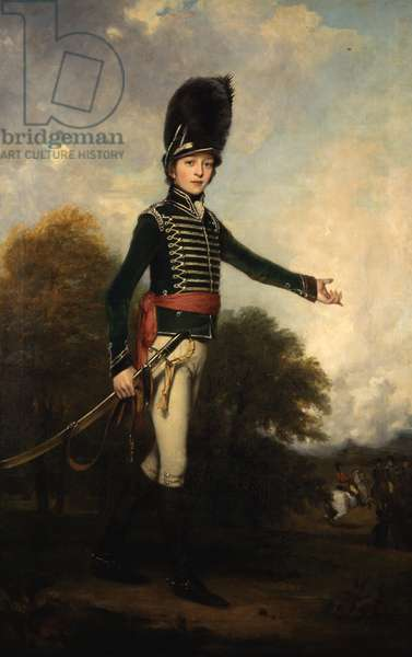 Portrait of Hugh, Earl Percy, later 3rd Duke of Northumberland, 1800 (oil on canvas)