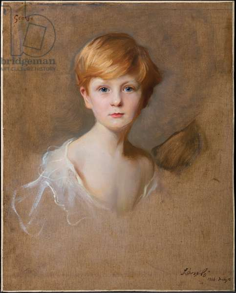 Portrait of Lord Warkworth, aged 4, 1916, 1916 (oil on canvas)