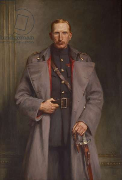 Portrait of Alan, 8th Duke of Northumberland, 1923 (oil on canvas)