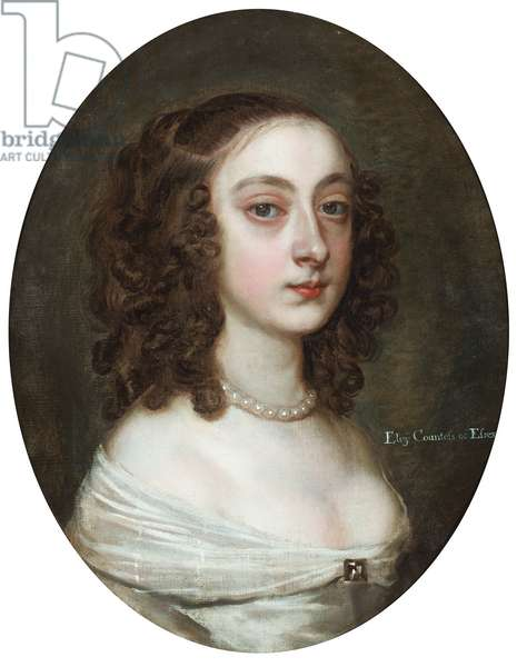 Portrait of Elizabeth, Countess of Essex (oil on canvas)