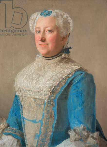 Portrait of Elizabeth Percy, Countess of Northumberland (pastel drawing)