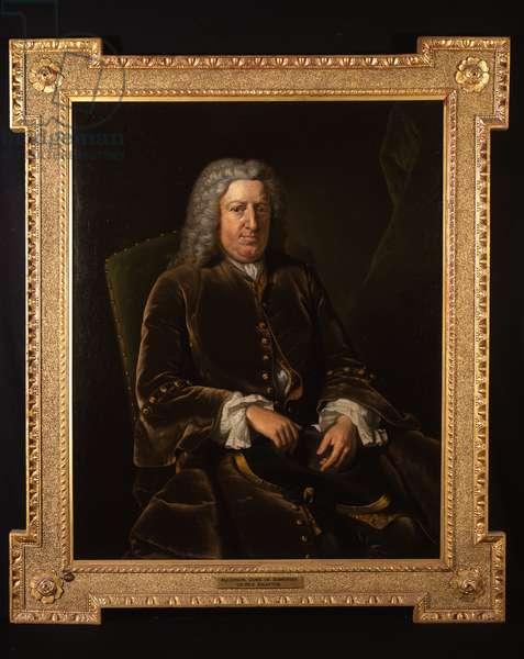 Portrait of Algernon Seymour, Lord Hertford, 7th Duke of Somerset (oil on canvas)