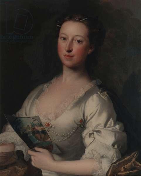 Portrait of Elizabeth Seymour, 1739 (oil on canvas)